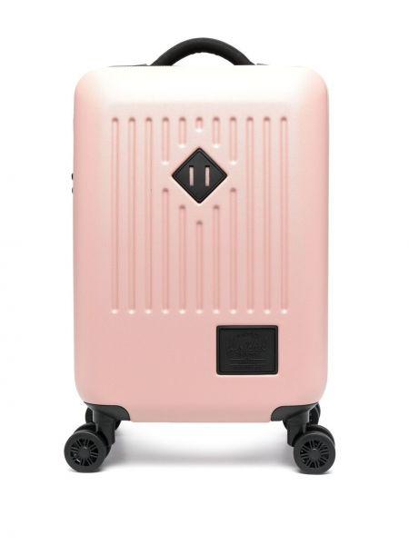Różowa walizka Herschel Supply Co.