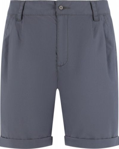 Фиолетовые свободные хлопковые шорты Outventure