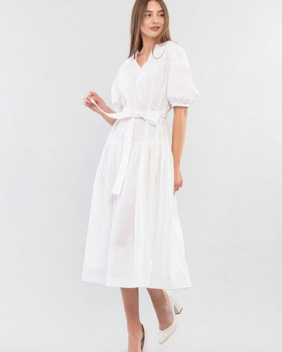 Платье - белое Maxa