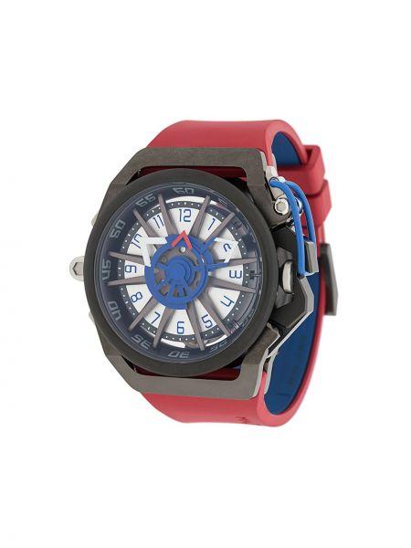 Czarny zegarek srebrny Mazzucato