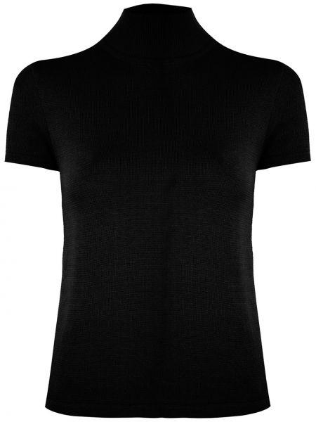 Блузка с коротким рукавом кружевная батник Andrea Bogosian