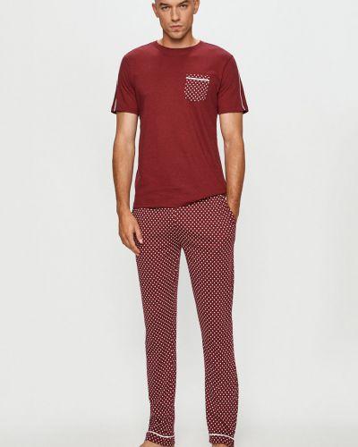 Czerwona piżama bawełniana Brave Soul