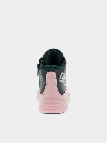 Черные ботинки на шнуровке Ecco