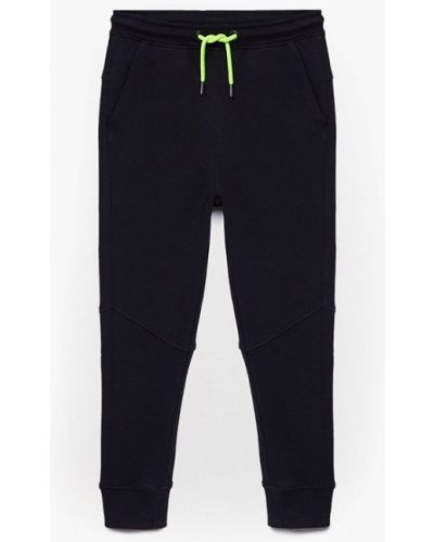 Черные спортивные брюки Mango Kids