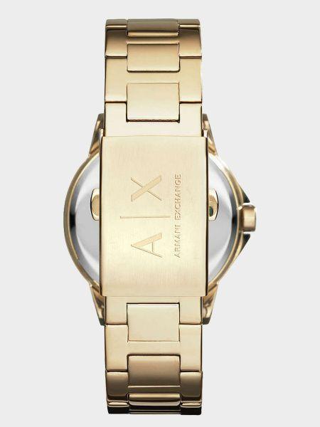 Повседневные часы с ремешком золотые Armani Exchange