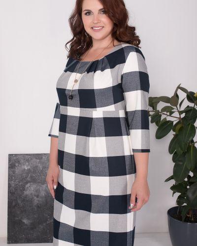 Платье со складками на молнии Olga Peltek