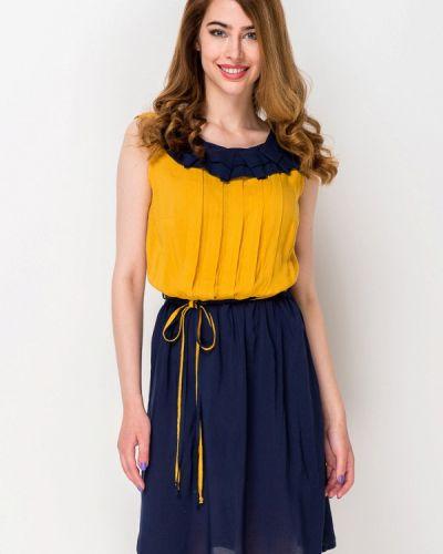 Повседневное платье весеннее синее Ruta-s