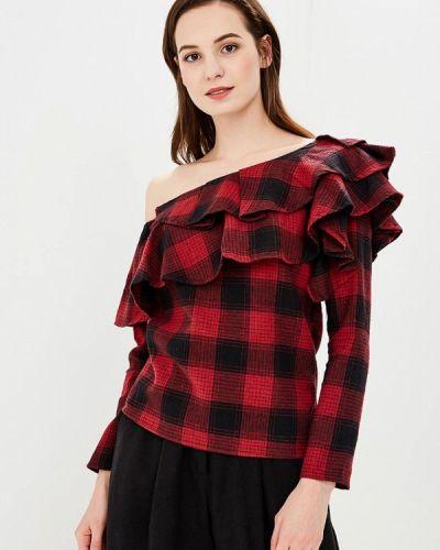 Блузка весенний красная Paccio