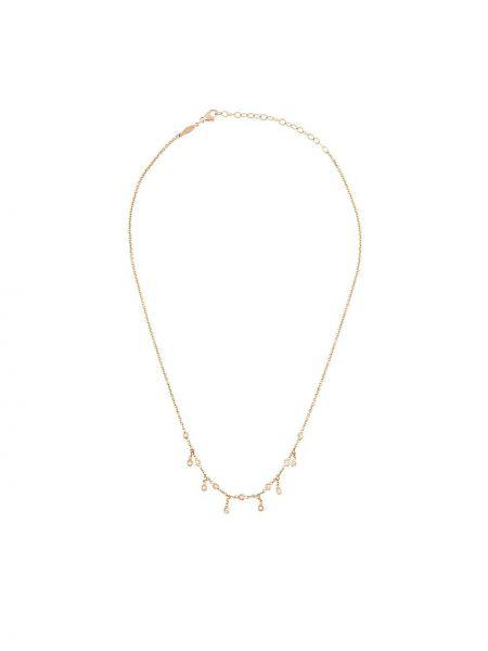 Золотистое желтое ожерелье Jacquie Aiche