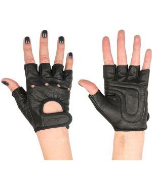 Кожаные перчатки для фитнеса тренировочные Star Fit