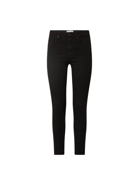 Czarne jeansy bawełniane Armedangels