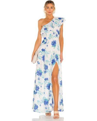 Платье макси винтажное - белое Yumi Kim