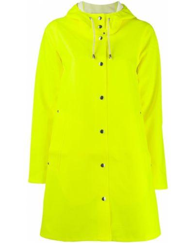 Дождевик с карманами желтый Stutterheim