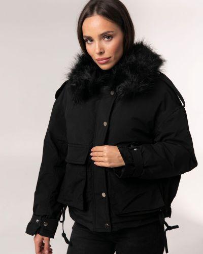 Куртка оверсайз - черная Icon