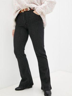 Широкие джинсы - черные Sophia