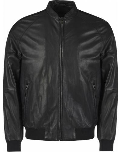 Кожаная куртка - черная Karl Lagerfeld