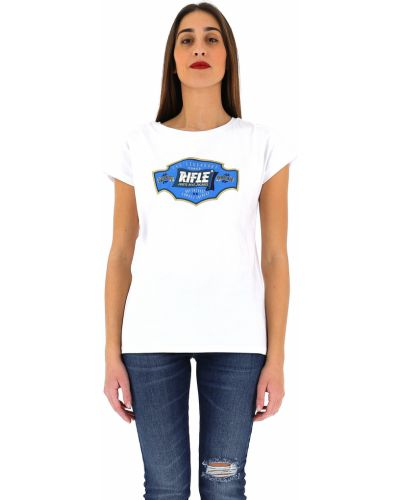 Белая футболка Rifle