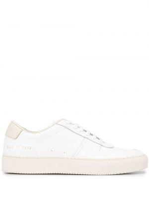 Кожаные кроссовки - белые Common Projects