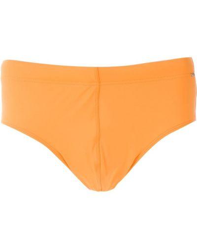 Оранжевые плавки с подкладкой Amir Slama