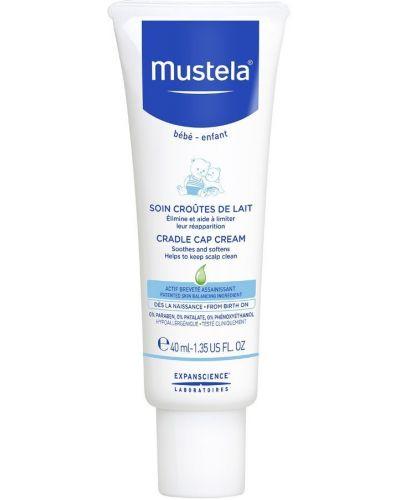 Кожаный крем для массажа Mustela