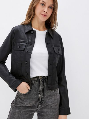 Джинсовая куртка - черная Calvin Klein Jeans