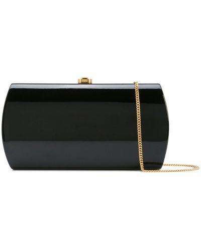Черная сумка на цепочке Rocio
