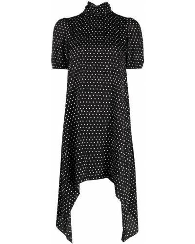 Платье мини короткое - черное John Richmond