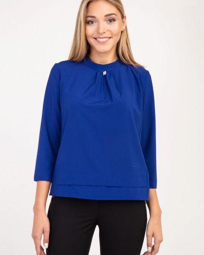 Блузка с коротким рукавом синяя Das