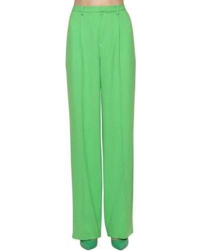 Шерстяные палаццо - зеленые Ralph Lauren Collection