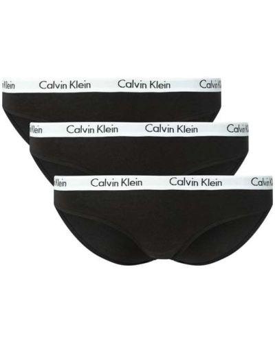 Czarne slipy bawełniane Calvin Klein Underwear