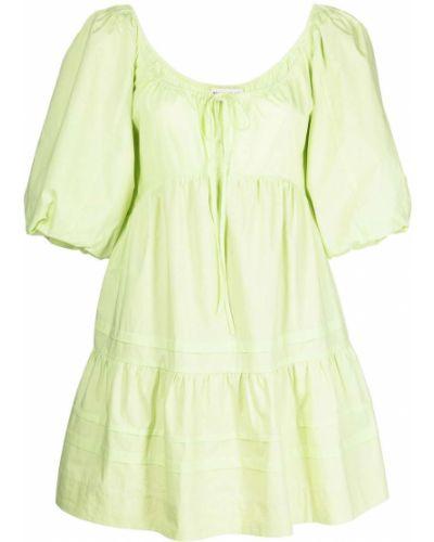 Платье мини короткое - зеленое Nicholas