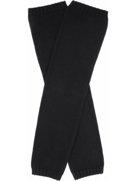 Черные классические шелковые перчатки длинные эластичные Panicale