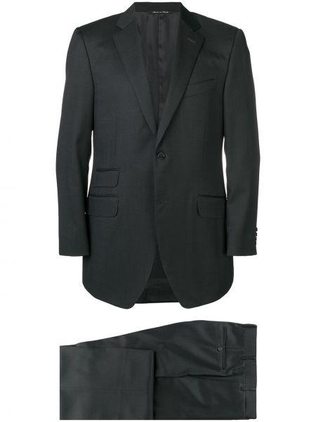 Garnitur kostium wełniany Canali