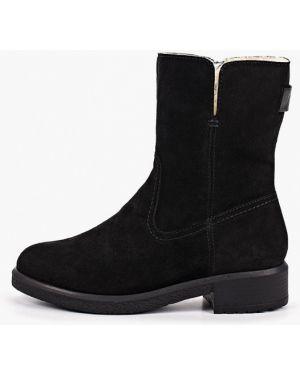 Ботинки на каблуке черные осенние Nexpero