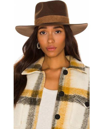 Brązowa czapka wełniana Lack Of Color