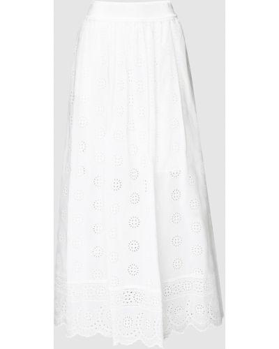 Белая юбка макси Blugirl