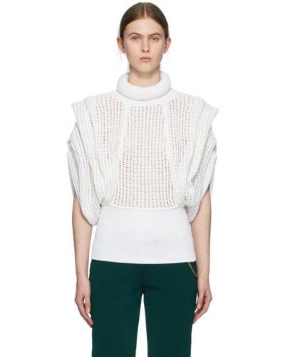 Водолазка с воротником-стойка без рукавов Givenchy