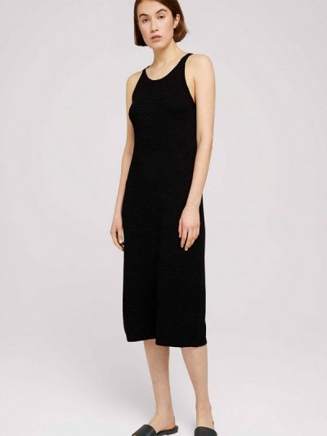 Черное платье-майка Tom Tailor Denim