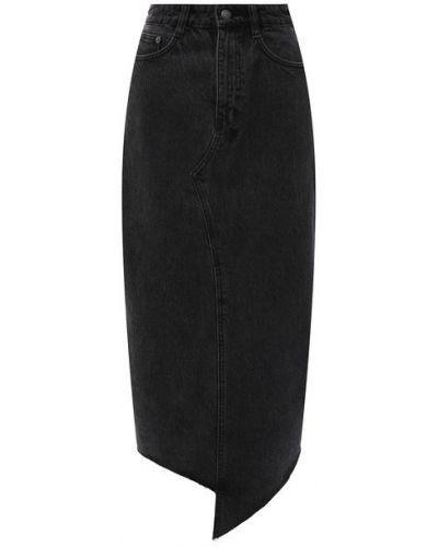 Джинсовая юбка - серая Ksubi