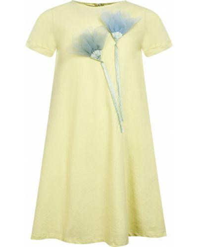 Желтое платье Il Gufo