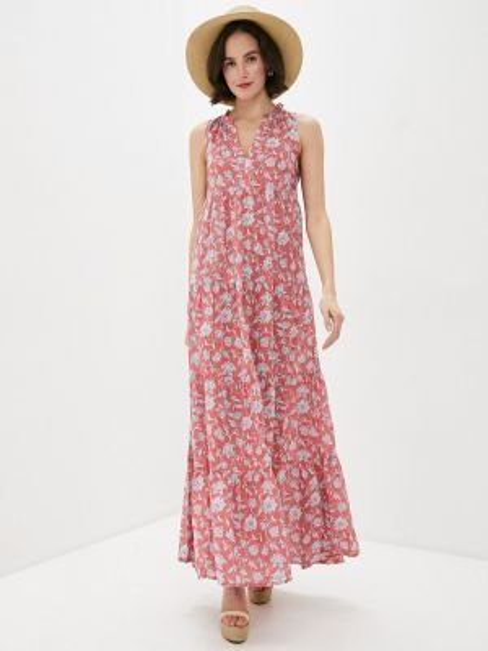 Розовое джинсовое платье Pepe Jeans