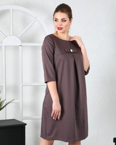Платье миди деловое платье-сарафан Ellcora