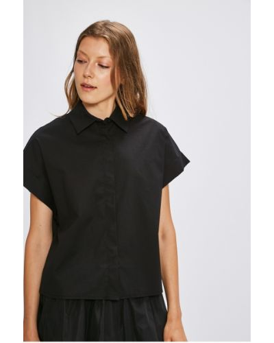 Блузка однотонная прямая Miss Poem