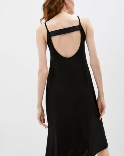 Черное платье Bikkembergs