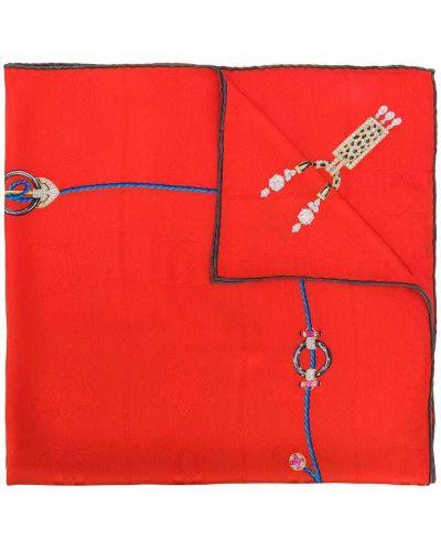 Шарф красный Cartier Pre-owned