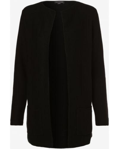 Czarny garnitur elegancki dzianinowy Franco Callegari