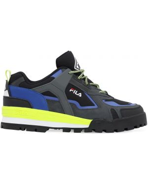 Sneakersy sznurowane koronkowe Fila Urban