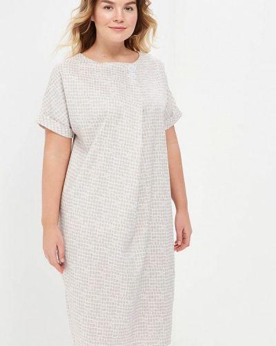 Платье весеннее бежевое Aelite