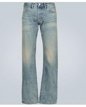 Прямые джинсы с жемчугом Rrl