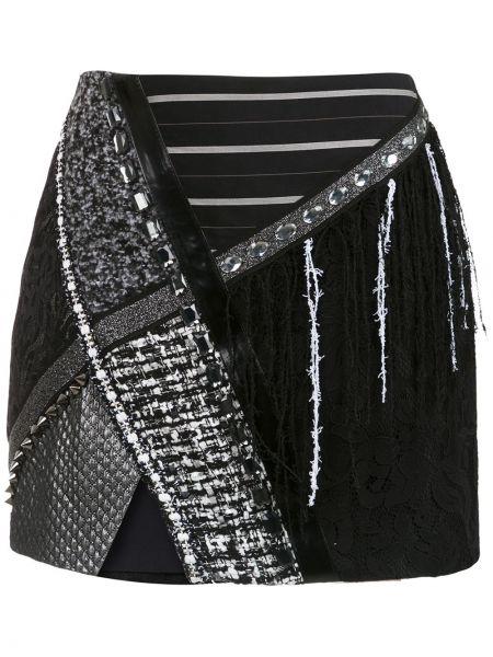 Хлопковая юбка - черная Martha Medeiros